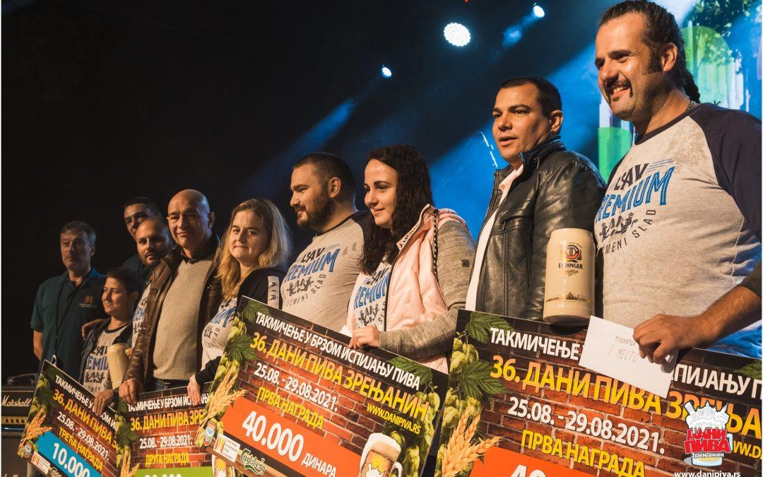 4. dan – Subota – 28.08.2021 – Finale u brzom ispijanju piva